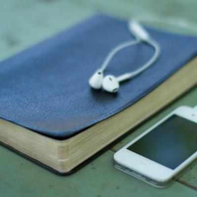 header - bible with ipod